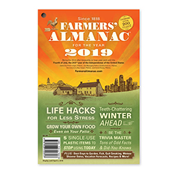 Farmers' Almanac & Calendars