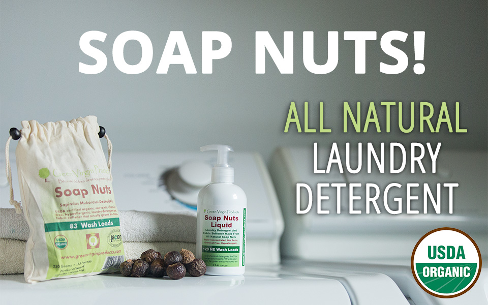 Soap Nuts All Natural Laundry Detergent