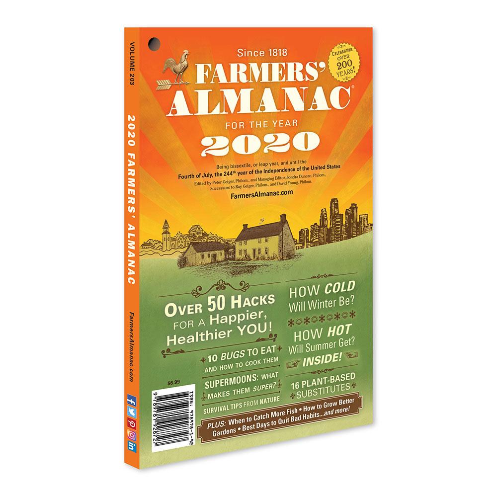 Farmers Almanac Best Days 2020 2020 Farmers' Almanac   Farmers' Almanac Store