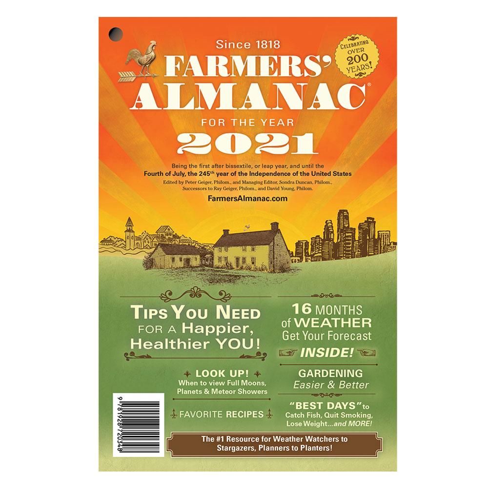 2021 Farmers Almanac Store